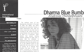 Dharma Blue Dumbs Thumb