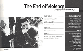The End Of Violence Thumb